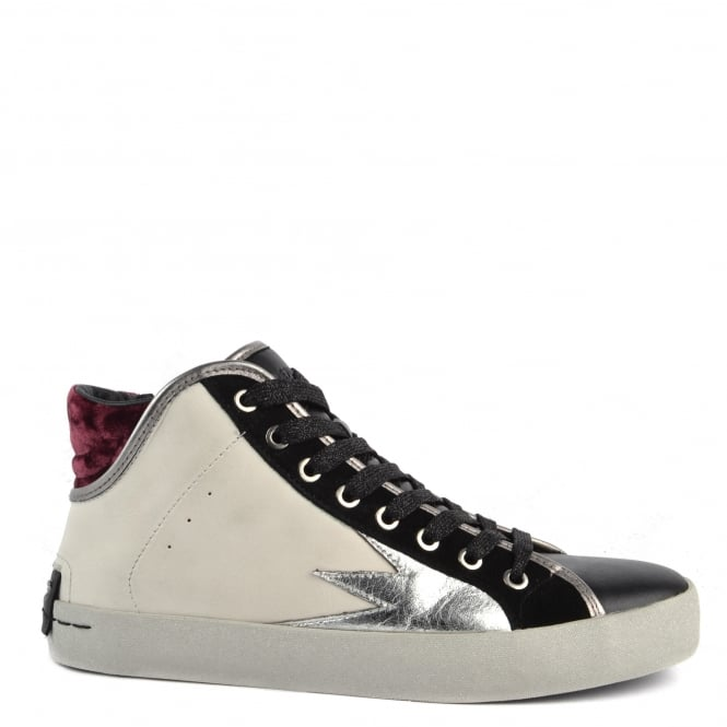 Crime London Faith Hi Explosion Off White Trainer