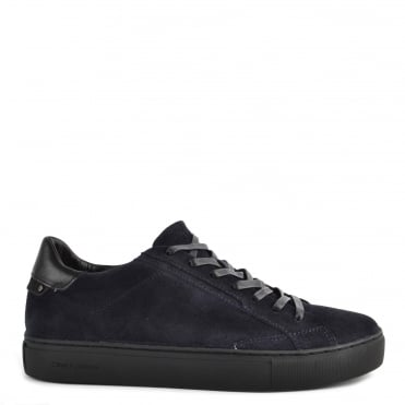 Mens' Undercover Blue Suede Low Top Trainer