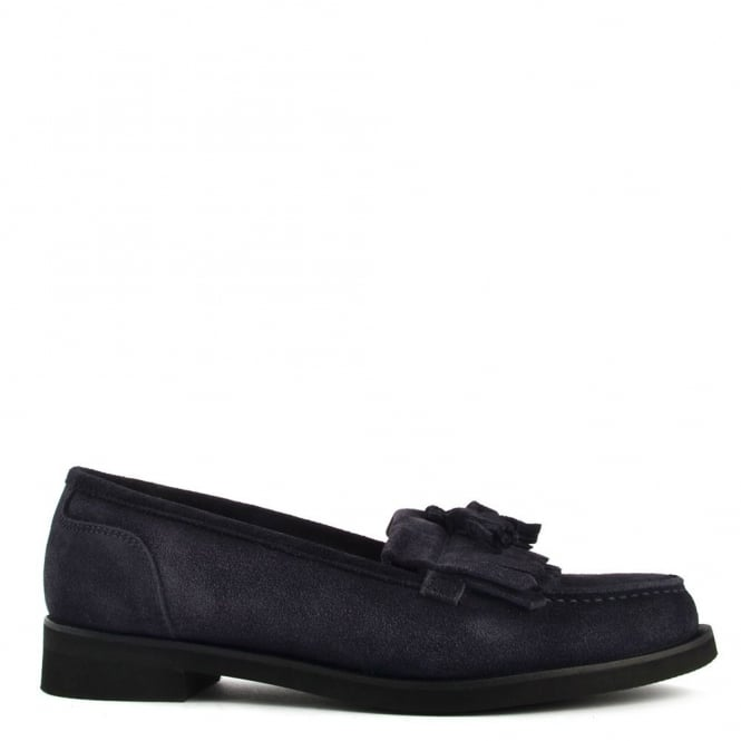 Elia B Shoes Alpha Navy Suede Loafer
