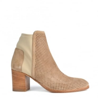 Easy City Corda Perforated Ankle Boot