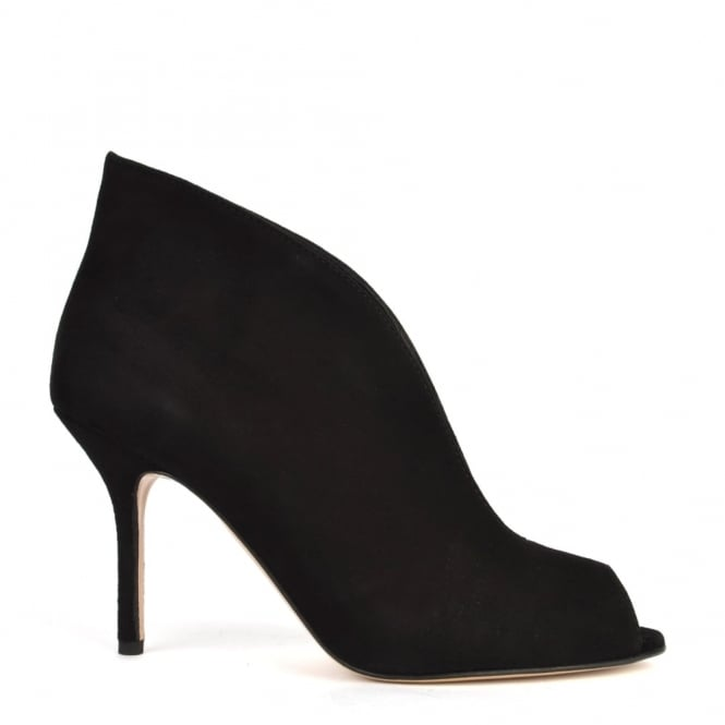 Elia B Shoes Moonflower Black Suede Boot