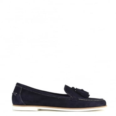 Prima Navy Suede Loafer