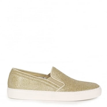 Pukka Gold Textured Slip On Trainer