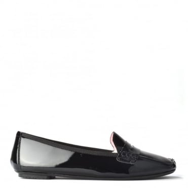 Rita Black Patent Loafer