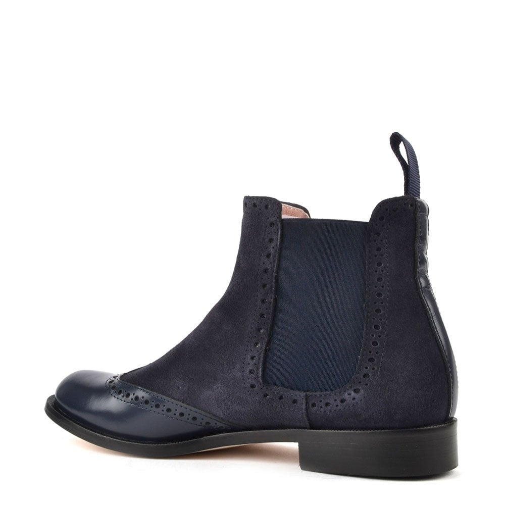 Elia B Shoes Sloane Ranger Navy Chelsea Boot - Women from Brand ... 0d94d1899