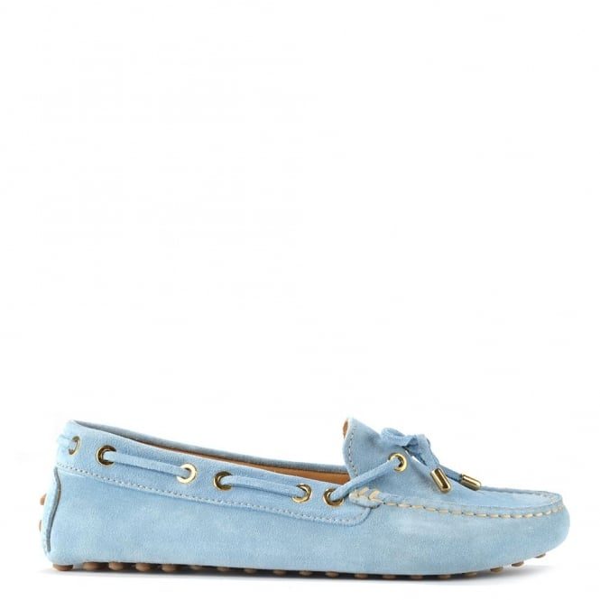 df015f94d7d Elia B Shoes Softy Light Blue Suede Loafer - Women from Brand Boudoir UK