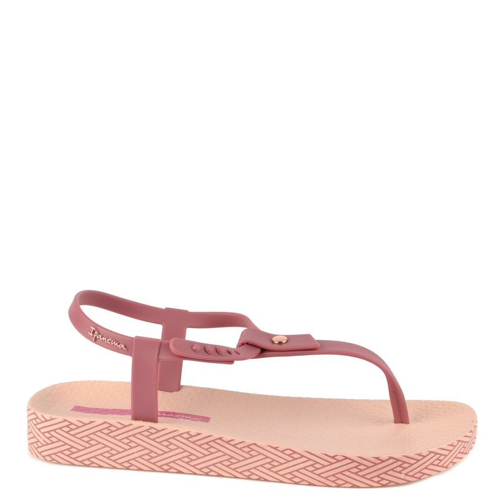 dde95a809 Shop The Women s Ipanema Bossa Soft Berry Thong Sandals Today