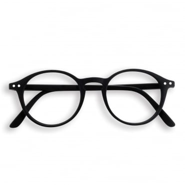 LetmeSee #D Black Reading Glasses