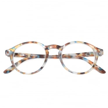 LetmeSee #D Blue Tortoise Reading Glasses