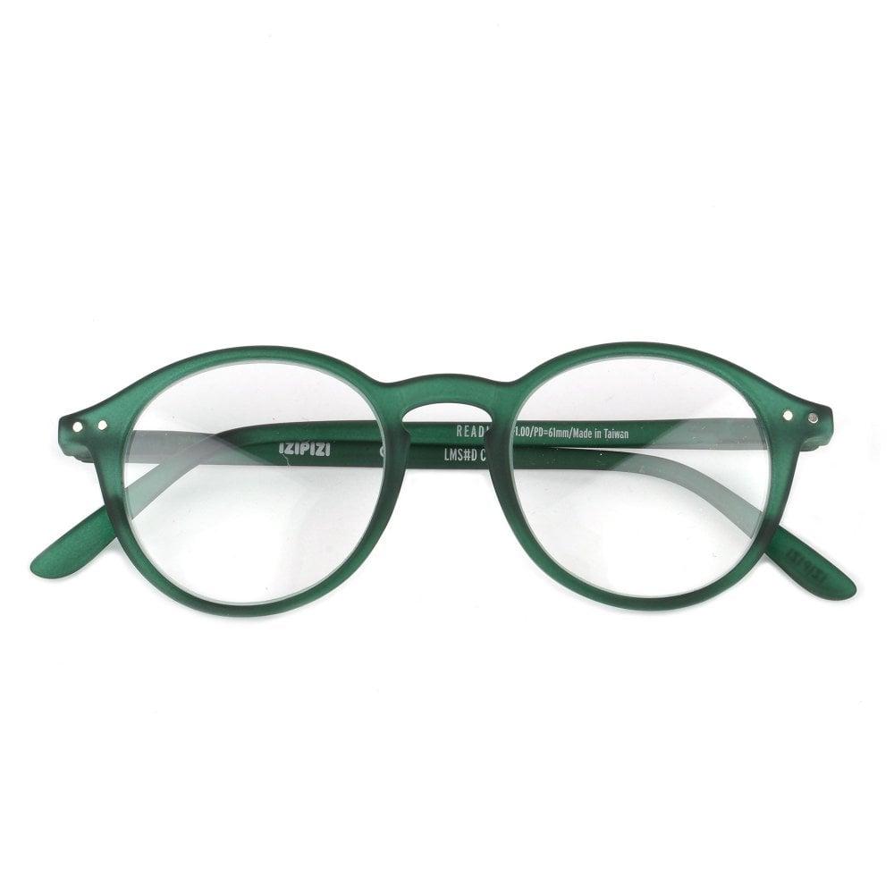 LetmeSee #D Green Crystal Reading Glasses