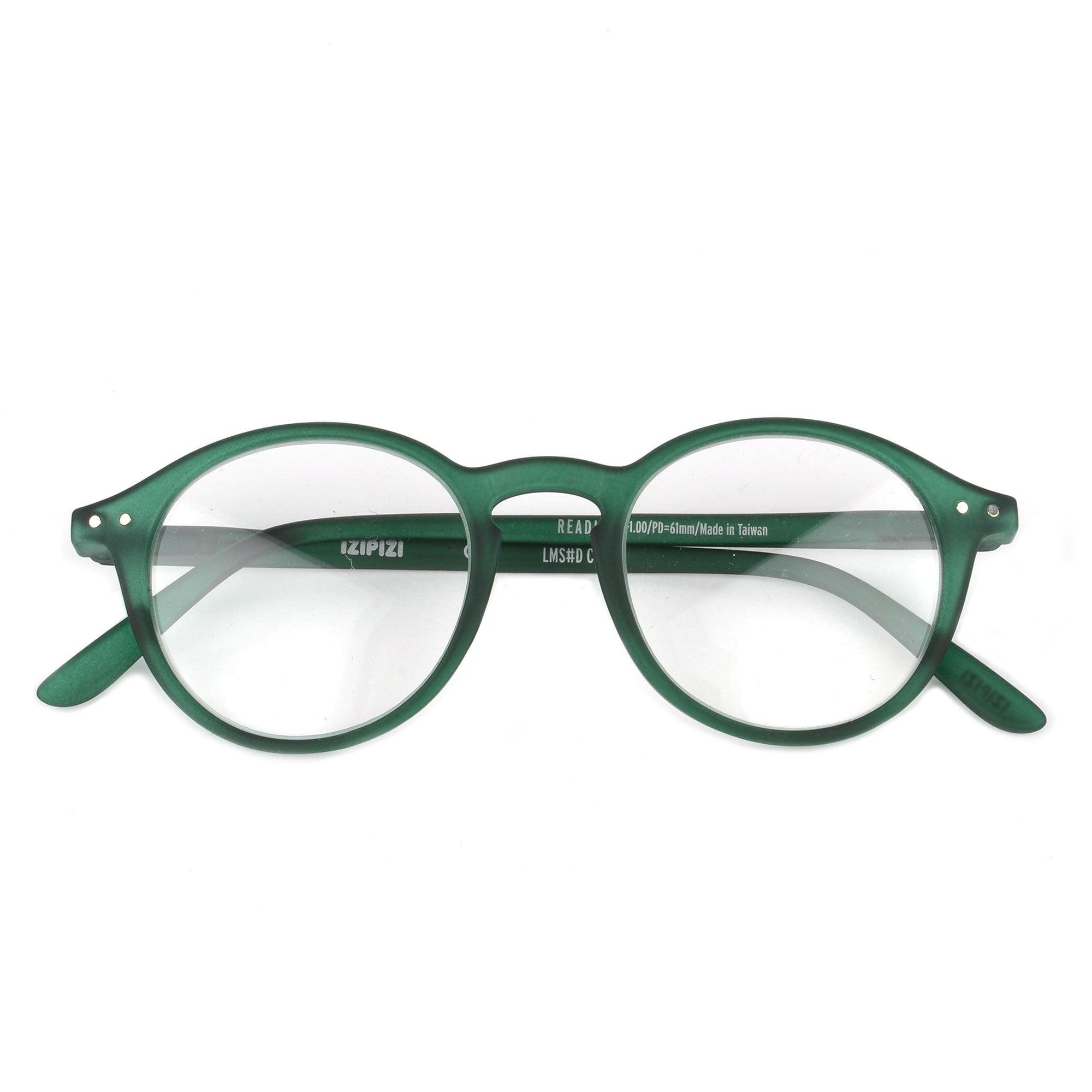 IZIPIZI #E Green Crystal Reading Glasses