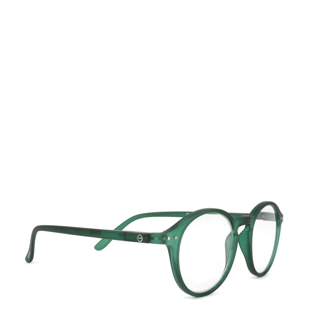 LetmeSee #D Green Crystal Reading Glasses