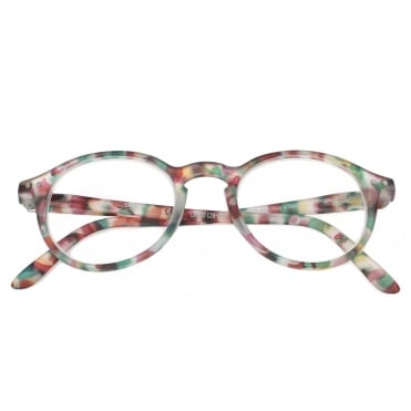 LetmeSee #D Green Tortoise Reading Glasses