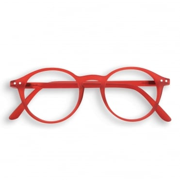 LetmeSee #D Red Reading Glasses