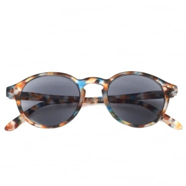 LetmeSee Sun & Reading #D Blue Tortoise Sunglasses