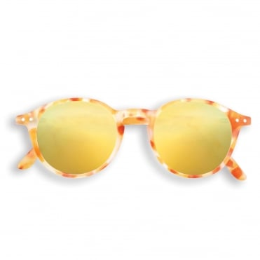 LetmeSee Sun & Reading #D Yellow Tortoise Sunglasses