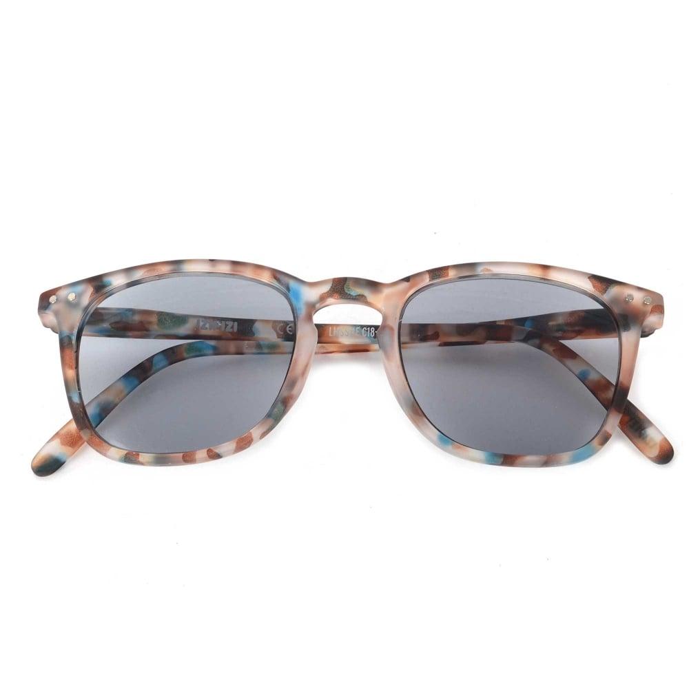 a641e36feb IZIPIZI LetmeSee Sun   Reading  E Blue Tortoise With Grey Lenses Sunglasses