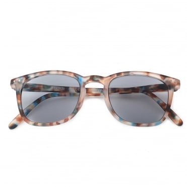LetmeSee Sun & Reading #E Blue Tortoise Sunglasses