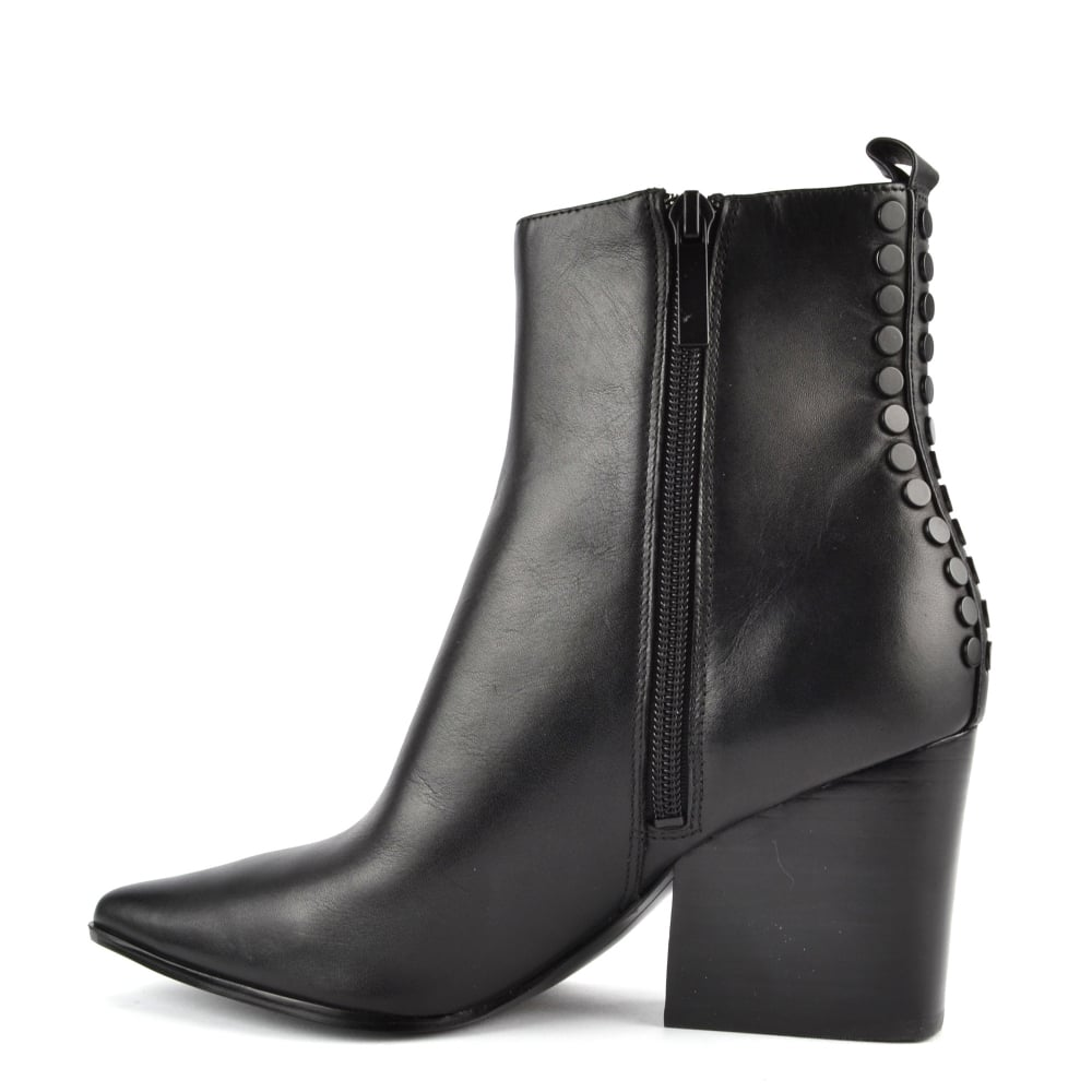 3c479ef25f8 Felix Black Leather Ankle Boot