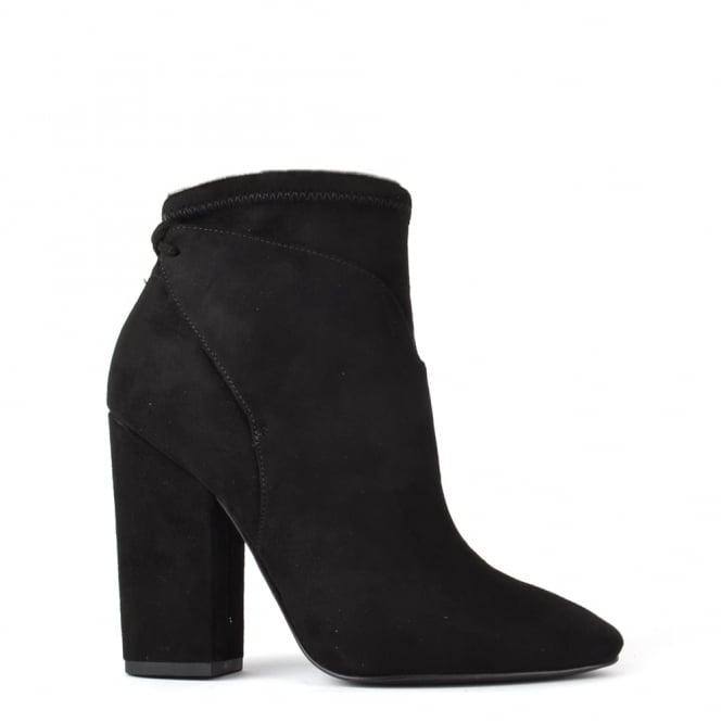 Kendall & Kylie Zola Black Suede Ankle Boot
