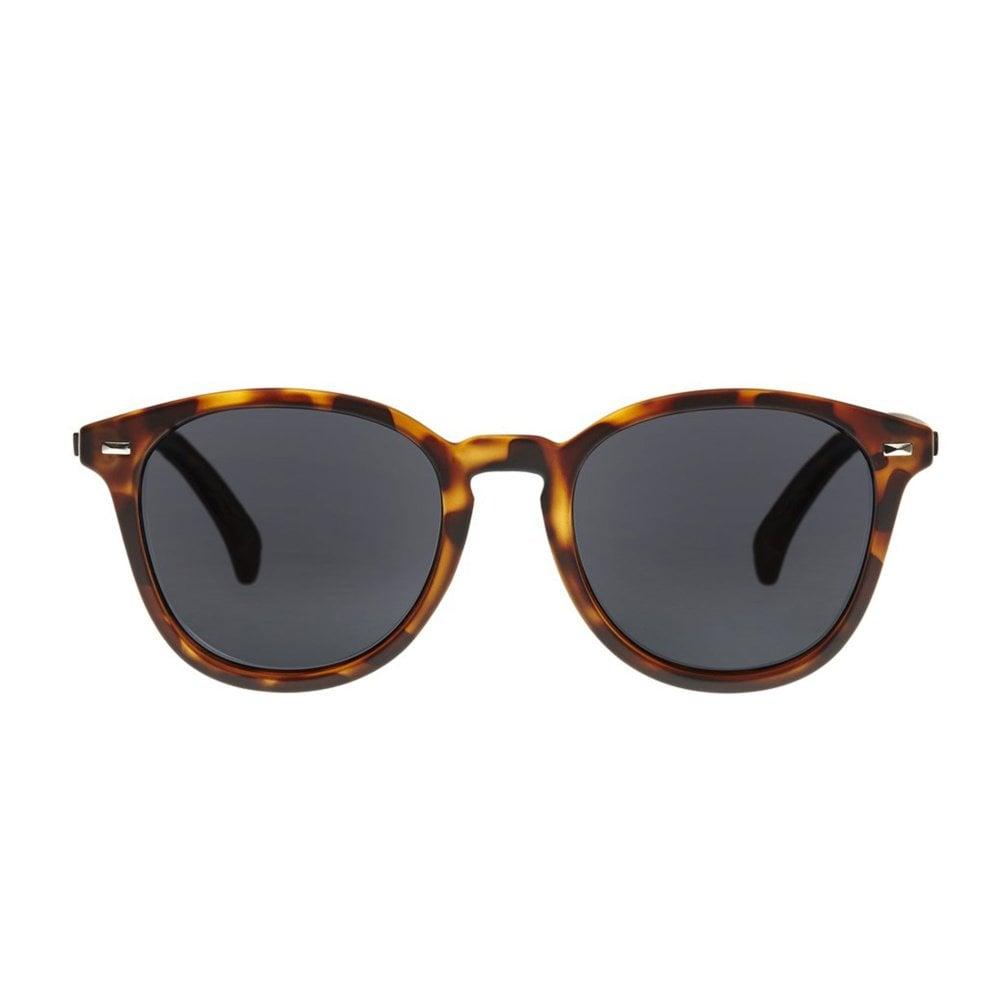89e4237b1a Le Specs Bandwagon Tortoise Polarised Round Sunglasses