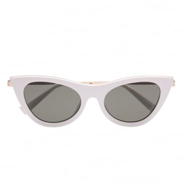 Enchantress White Cat Eye Sunglasses