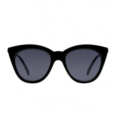 Half Moon Magic Black Sunglasses