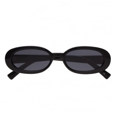 Outta Love Oval Frame Acetate Sunglasses