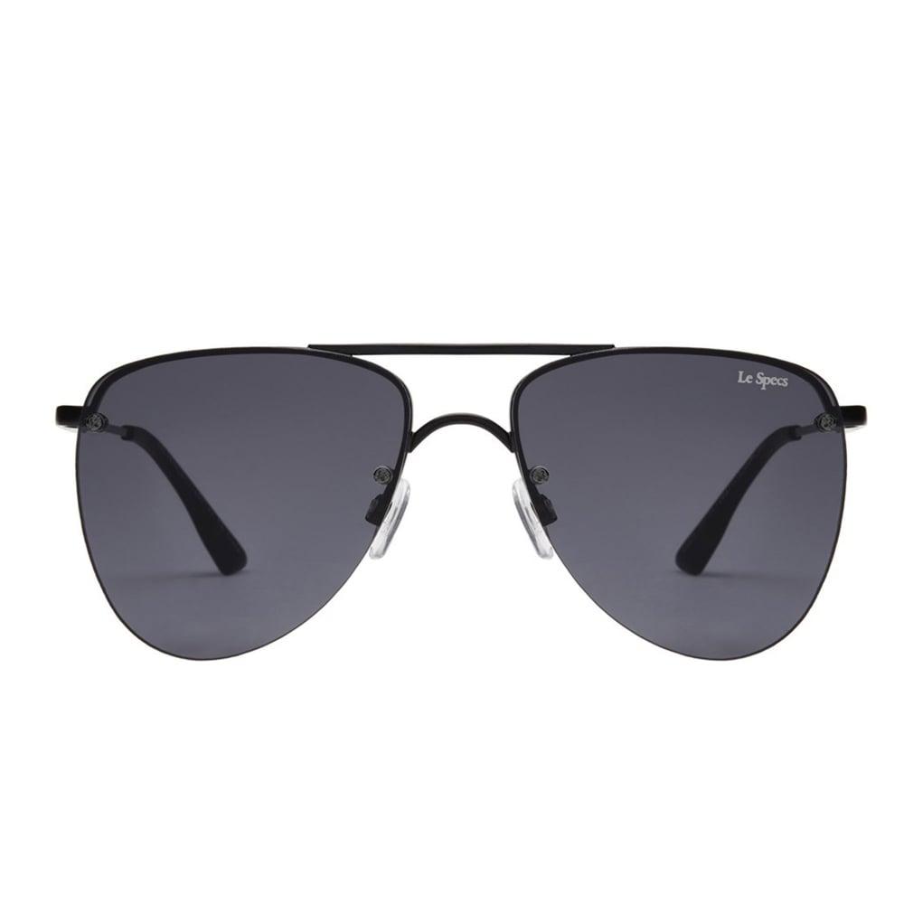 edc11d86da7 Le Specs The Prince Black Matte Aviator Sunglasses