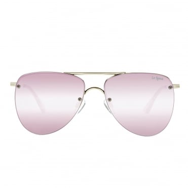 The Prince Blush Aviator Sunglasses