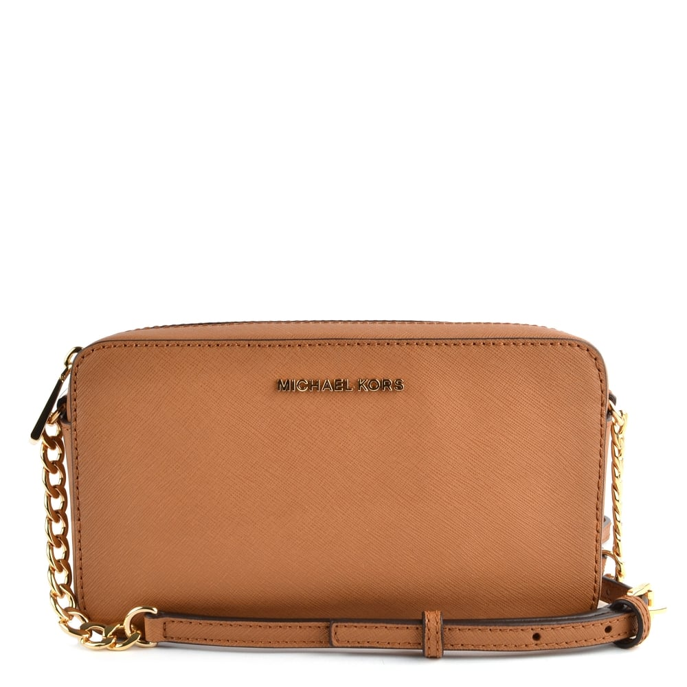 d271fc07887e MICHAEL by Michael Kors Acorn Medium Leather Crossbody Bag