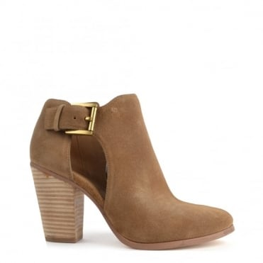 Adams Desert 'Tan' Suede Cut Out Boot
