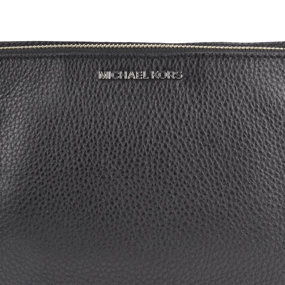 Adele Black Double Zip Crossbody Bag ce51d3f7973c8