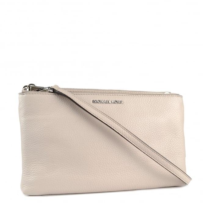 20965f9c3c61 Adele Cement Double Zip Crossbody Bag