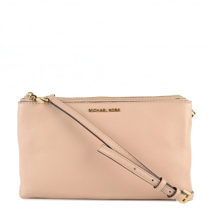 MICHAEL by Michael Kors Adele Oyster Double Zip Crossbody Bag