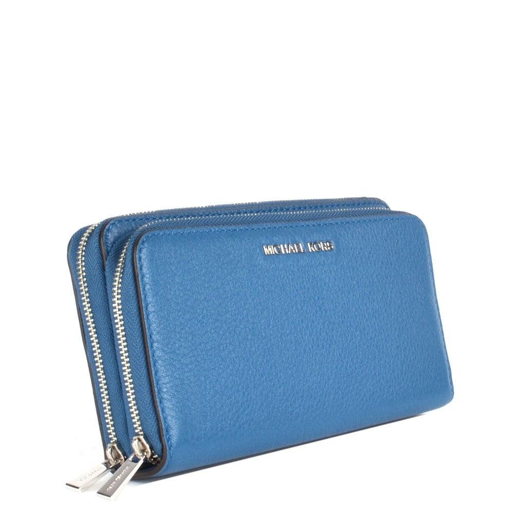 991fad9a1689 Mk Double Zipper Wallet - Best Photo Wallet Justiceforkenny.Org