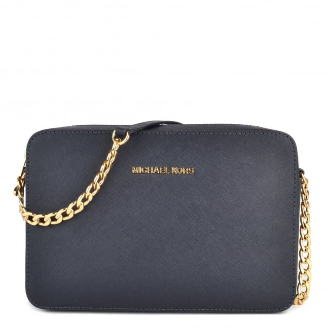 MICHAEL by Michael Kors Admiral 'Navy' Saffiano Leather Large Crossbody