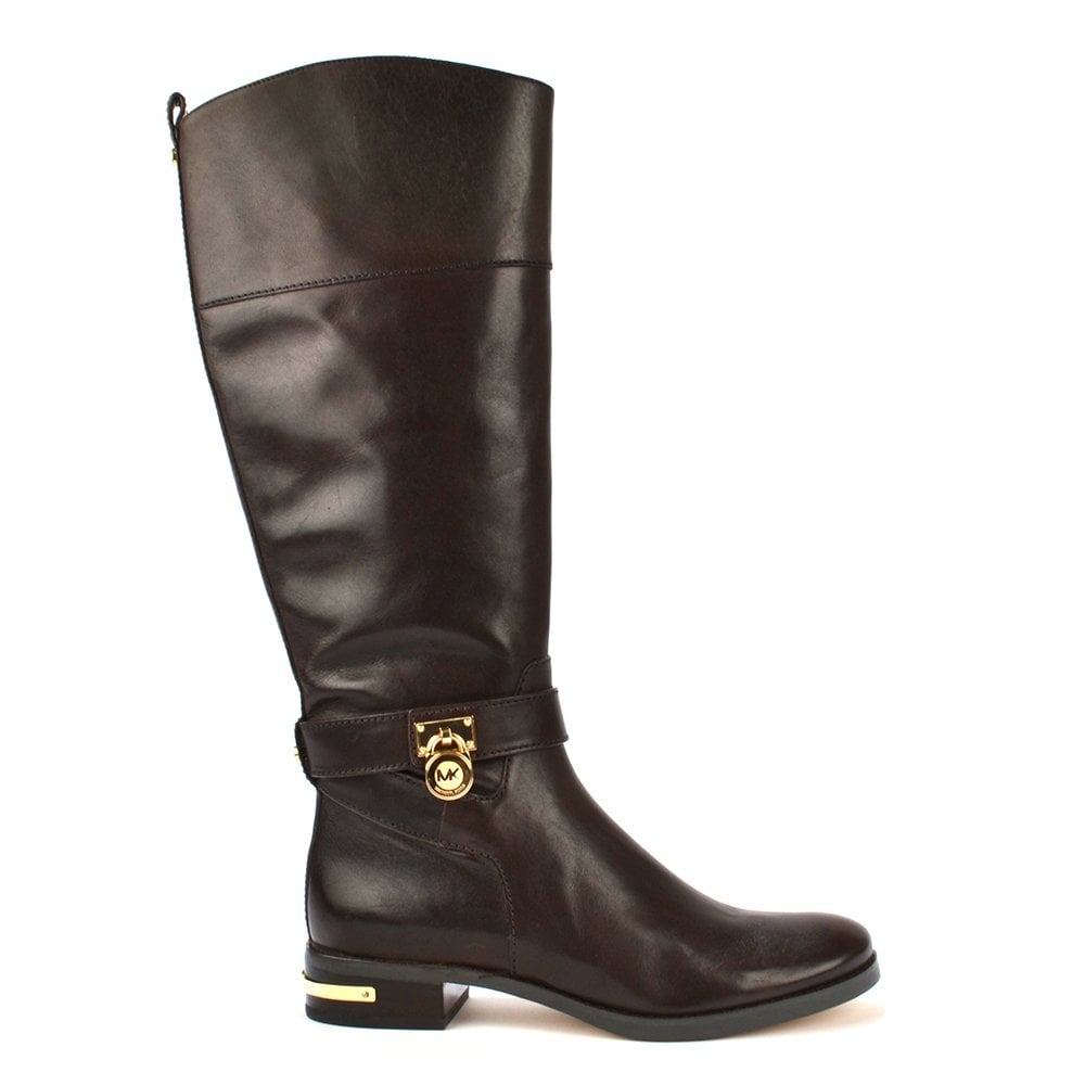 sale usa online fine quality new arrival Aileen Dark Chocolate Leather Riding Boot