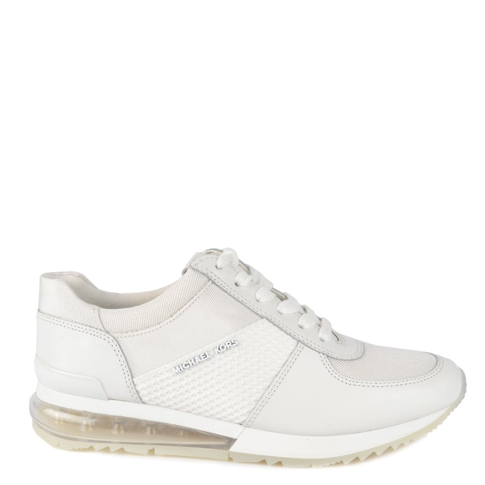 39280da6f09a MICHAEL by Michael Kors Allie Extreme Optic White Mesh Trainer