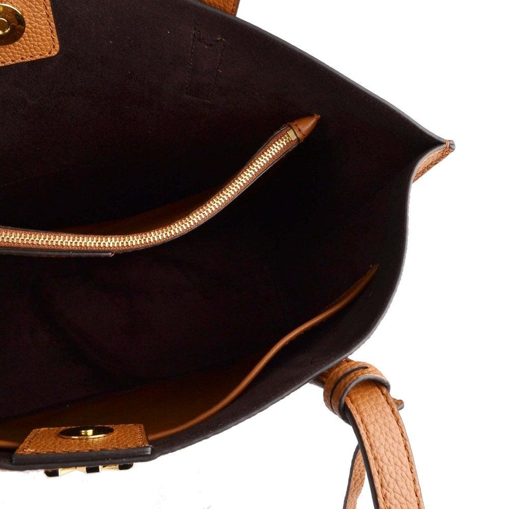 778da84cc18b MICHAEL MICHAEL KORS Ana Acorn Medium Leather Bonded Tote