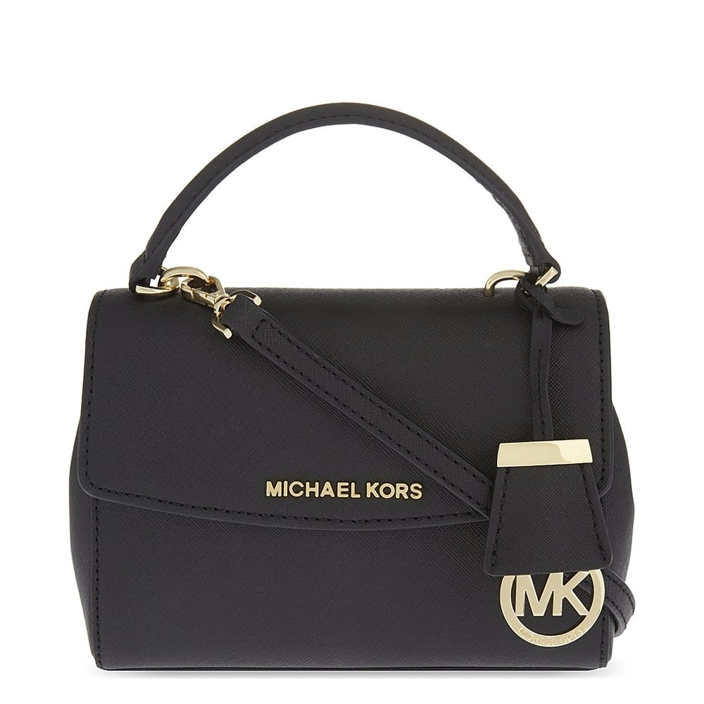 50da8f6e43e3 MICHAEL by Michael Kors Ava Black Extra Small Crossbody Bag