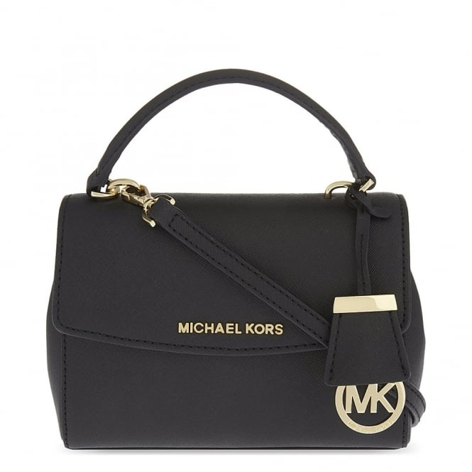 MICHAEL by Michael Kors Ava Black Extra Small Crossbody Bag