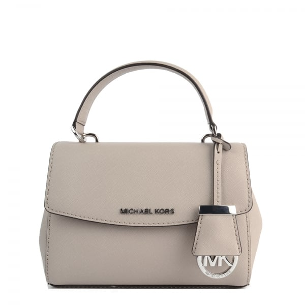 6ed0b2d34151 MICHAEL by Michael Kors Ava Cement Extra Small Crossbody Bag