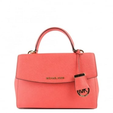 Ava Coral Reef Small Satchel