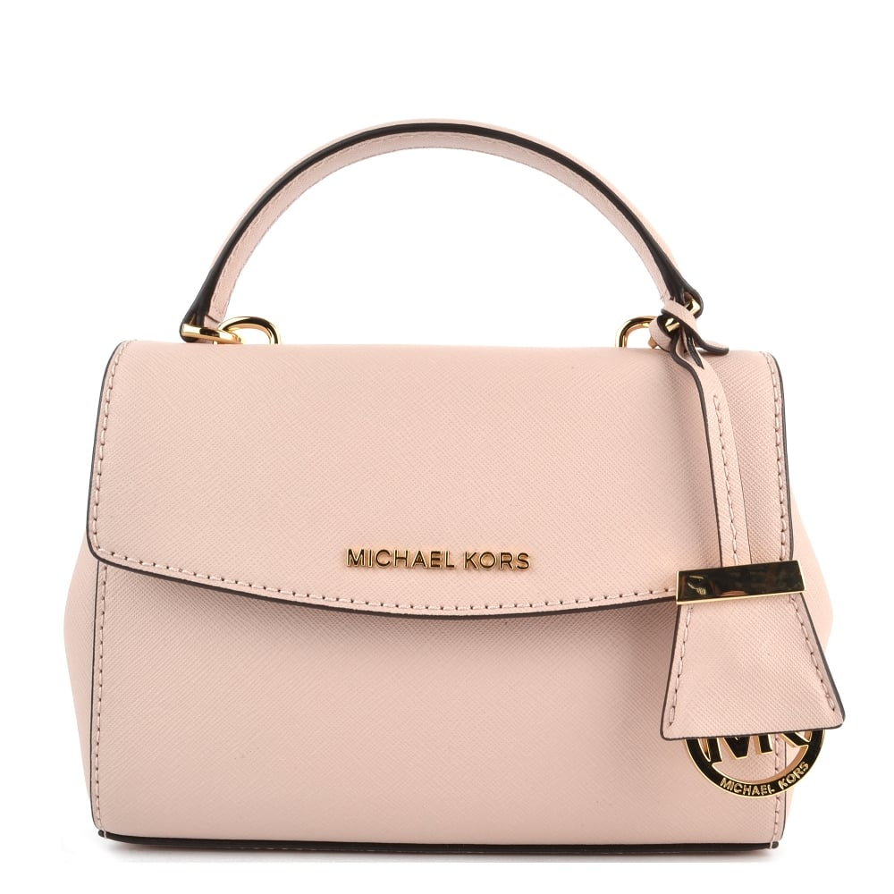 10a9f46bce9a MICHAEL by Michael Kors Ava Soft Pink Extra Small Crossbody Bag