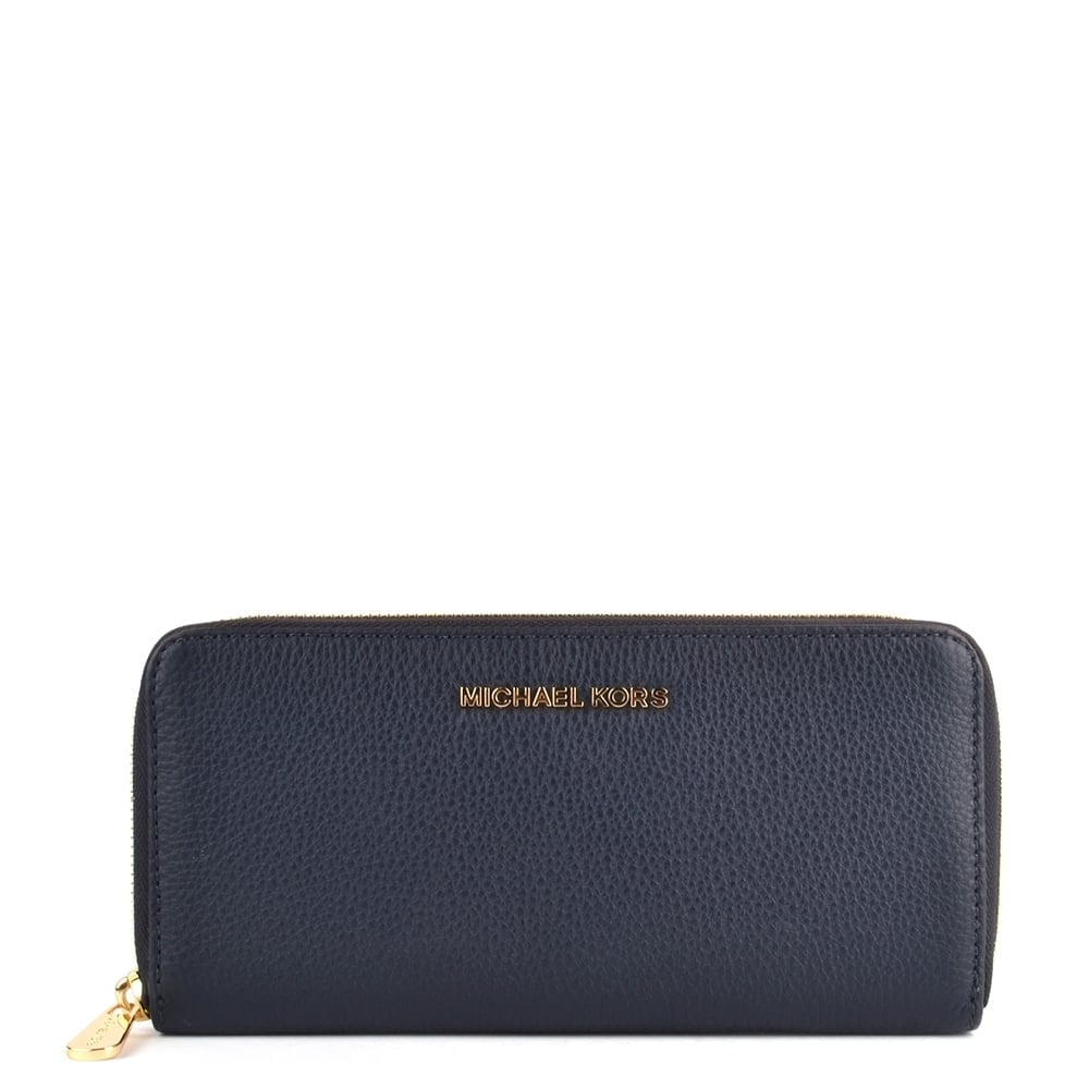 9dffaa696bc550 ... Bedford Admiral 039Navy039 Leather Continental Wallet Michael Kors  Bedford Black ...