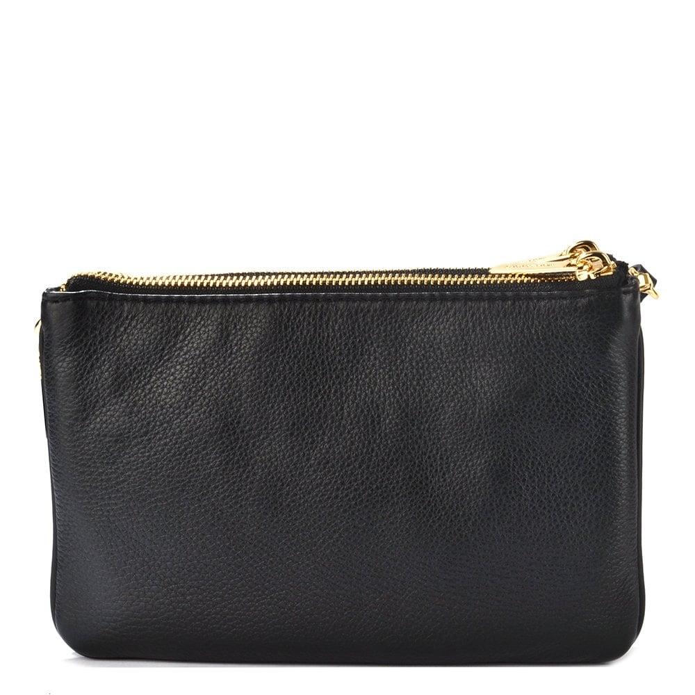 8d7b1ab635f5 MICHAEL by Michael Kors Bedford Black Gusset Crossbody Bag