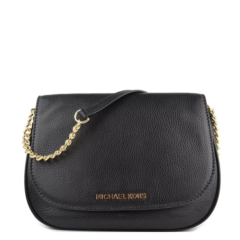 Bedford Black Medium Saddle Bag