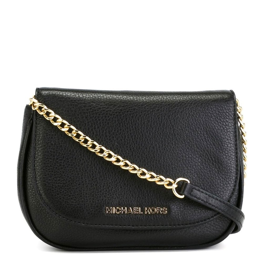 936a8abae3 MICHAEL by Michael Kors Bedford Black Small Cross Body Bag - Women ...