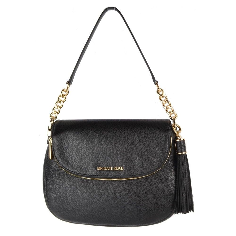 Bedford Black Tassel Convertible Shoulder Bag